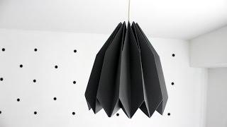 DIY Lampa origami