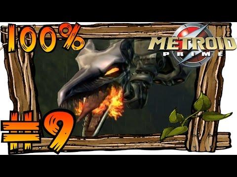 Metroid Prime [Trilogy   HD] 100% Walkthrough Part 9   Chozo Artifacts & Boss Meta Ridley