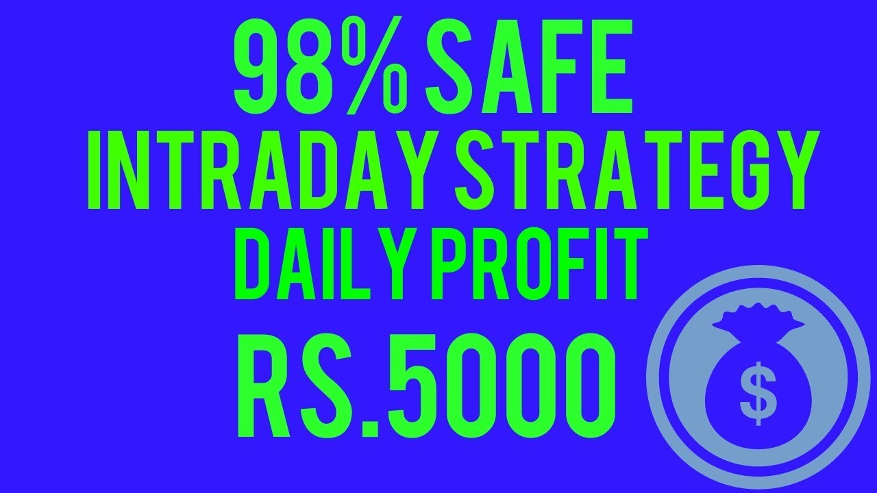 Intraday trading strategies in india pdf