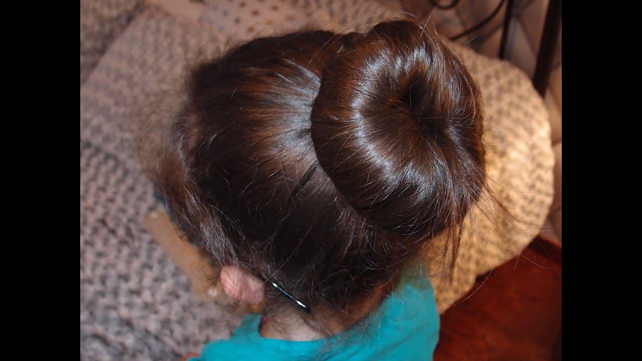 Tuto coiffure 4 coiffures chignon pour la danse classique avec l\u0027aide de 4  accesoires , YouTube