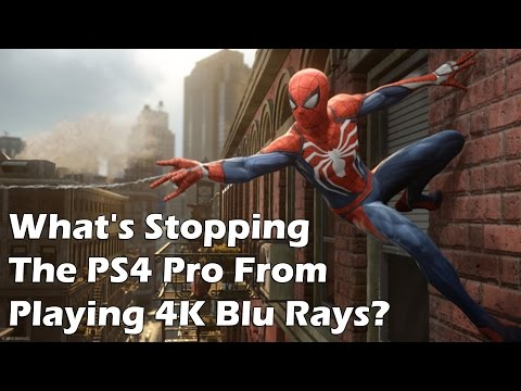 What's Stopping The PS4 Pro From Playing 4K Blu Rays?