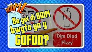 Be gei di DDIM bwyta yn y gofod? // What are you NOT allowed to eat in space?   Boom! 💥