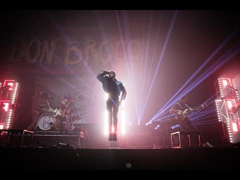 DON BROCO - Everybody LIVE