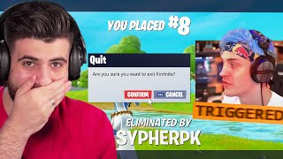 I Trolled Ninja until he RAGEQUIT...
