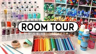ART ROOM TOUR 2019