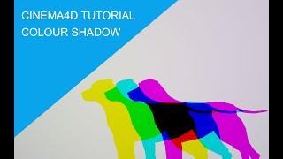 Cinema4D 컬러 그림자 워크플로우 및 튜토리얼 (…