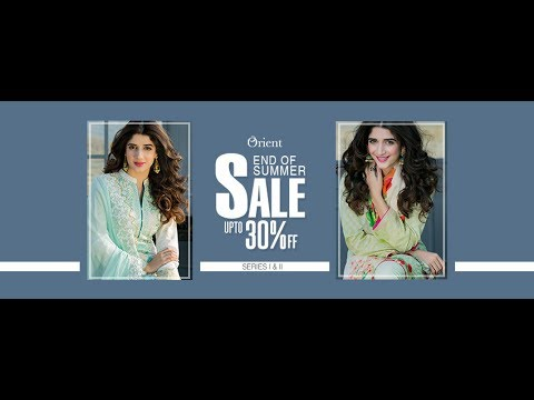 Orient Textiles Sale 20 30% off 2017-18