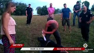 На Днепропетровщине женщина заступилась за козу и получила ножевые ранения