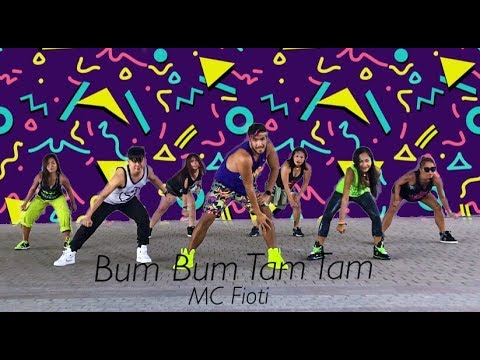 Zumba Dance Fitness Video - Bum Bum Tam Tam by MC Fioti - Masterjedai
