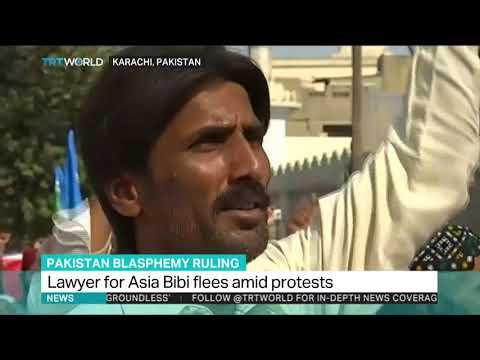 Husband of Asia Bibi seeks asylum for family after threats