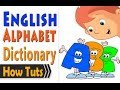 Alphabet Reading Dictionary قاموس حروف انجليزي
