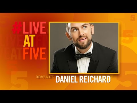 Broadway.com #LiveatFive with Daniel Reichard