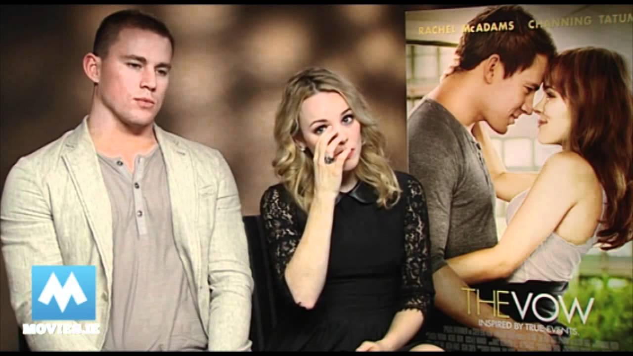 Fun With Rachel Mcadams Channing Tatum For The Vow Youtube