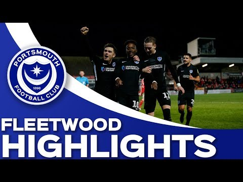 Highlights: Fleetwood Town 2-5 Portsmouth