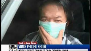 Vonis Pengusaha Cabul Di Kediri Yang Perkosa 58 Anak Di Bawah Umur - BIS 19/05