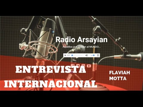 ENTREVISTA INTERNACIONAL RÁDIO DE BUENOS AIRES | FLAVIAH MOTTA