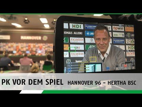 Ab 13:30 Uhr LIVE | Die PK vor dem Spiel | Hannover 96 - Hertha BSC