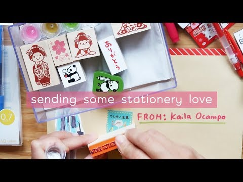 Making A Stationery Care Package For My Friend Abbey (PART 1) | Rainbowholic