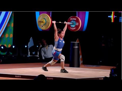 WOMEN 48kg A CLEAN & JERK / 2017 WEIGHTLIFTING WORLD CHAMPIONSHIPS