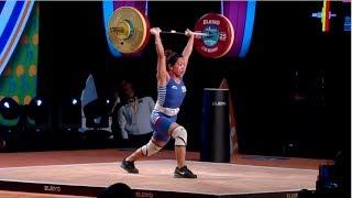 WOMEN 48kg A CLEAN & JERK / 2017 WEIGHTLIFTING WORLD CHAMPIONSHIPS