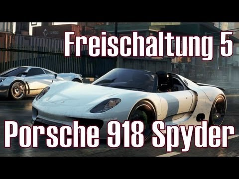nfs most wanted 2 freischaltung 5 porsche 918 spyder. Black Bedroom Furniture Sets. Home Design Ideas