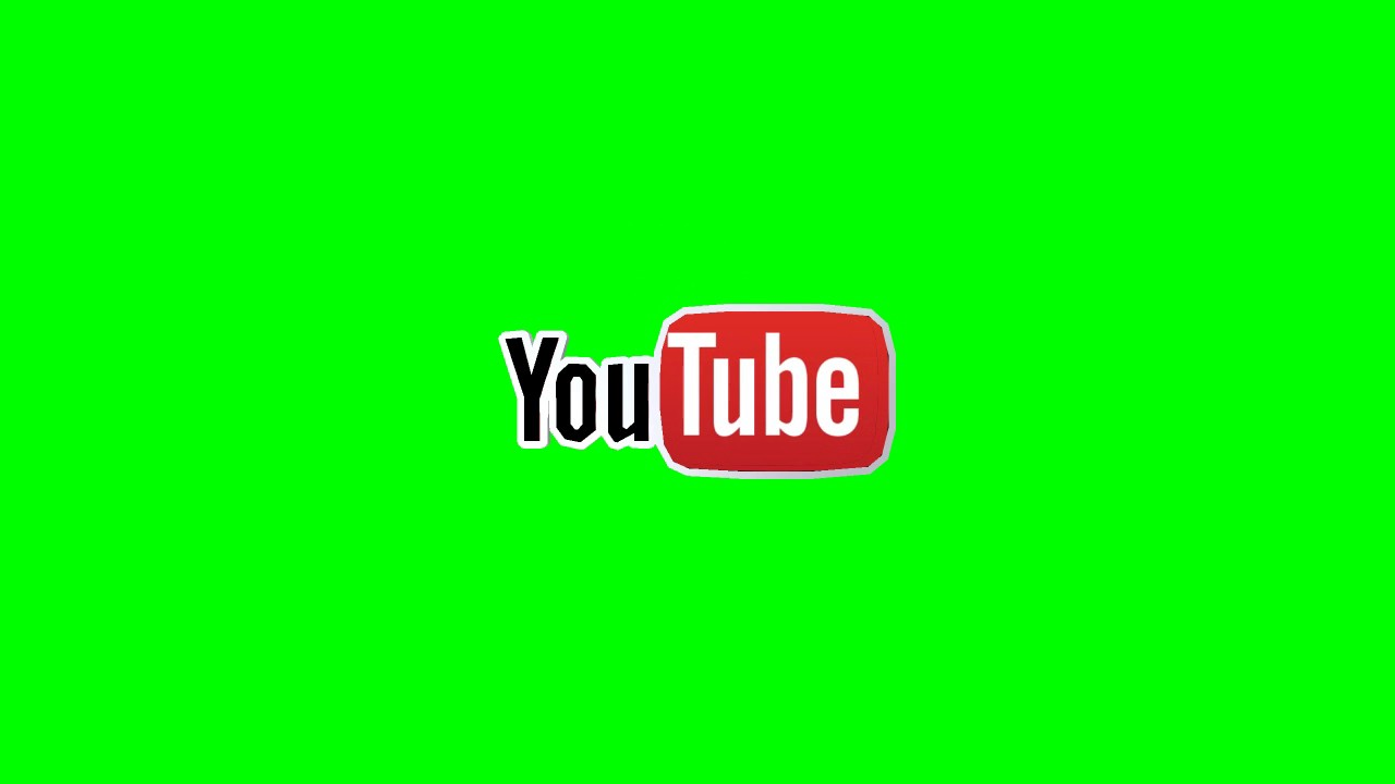 3d Youtube Logo Green Screen Intro Hd Royalty Free Part 9