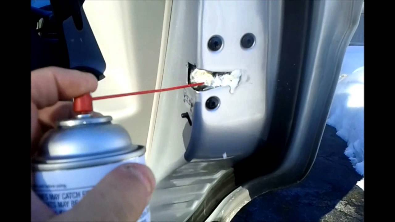 2009 Hyundai Accent Grease And Lube All Latches Youtube