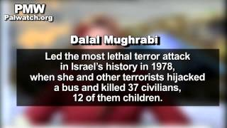 Female terrorists Dalal Mughrabi, Wafa Idris, and others are role models for students, on PA TV