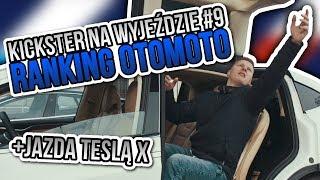 Ranking OTOMOTO oraz jazda Teslą X - Kickster na wyjeździe #9