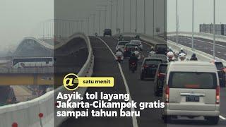 Tol layang Jakarta Cikampek 2 Elevated gratis, catat tanggalnya