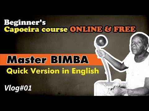 Mestre Bimba - Capoeira Course ONLINE & FREE - Vlog 01 English