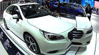 2016, 2017 Subaru Legacy, how it works, how it made, look inside