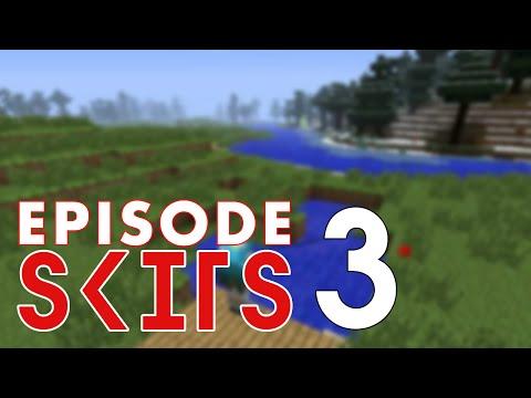 Minecraft Skits Episode 3  Spooked