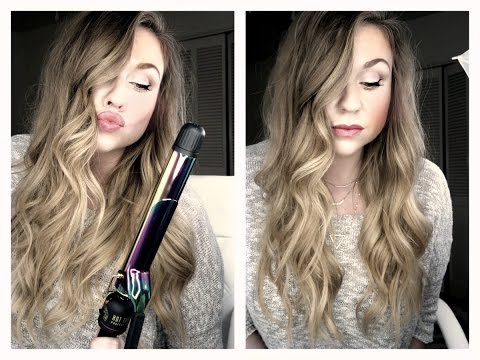 How to Curl your Hair//Tutorial with XL Curling Iron plus dry shampoo//Great for long hair!!!