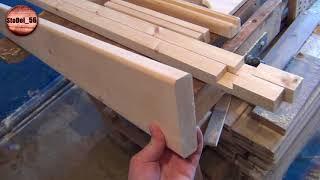 как сделать простой стол из покупных щитов