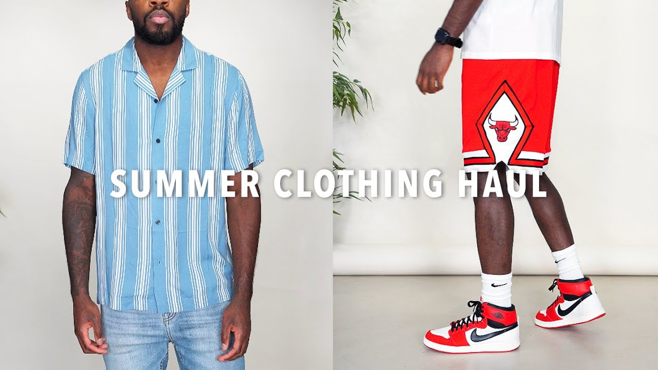 Summer 2021 Clothing Haul | Men's Fashion Pick-ups | I AM RIO P.