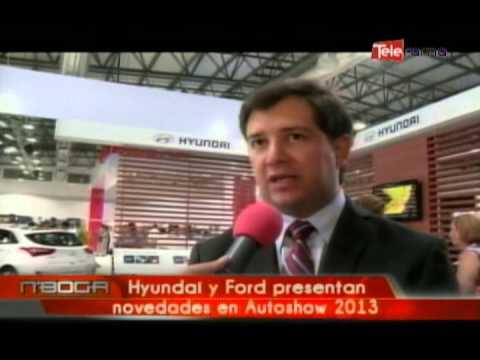 Hyundai y Ford presentan novedades en Autoshow 2013