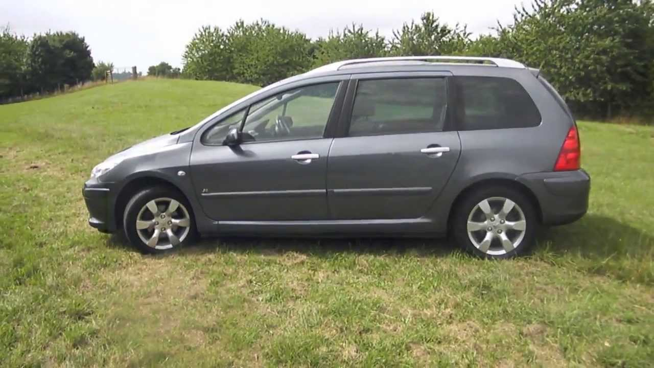 2007 peugeot 307 1 6 hdi sw 55 000 miles fpsh 56 miles gallon youtube. Black Bedroom Furniture Sets. Home Design Ideas