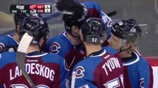 Detroit Red Wings vs Colorado Avalanche - March 15, 2017 | Game Highlights | NHL 2016/17