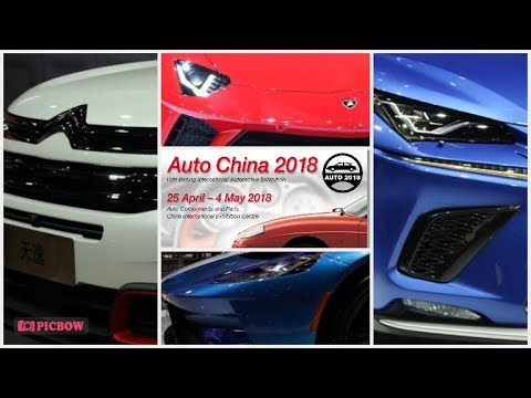 The Beijing Auto Show (Auto China) 2018
