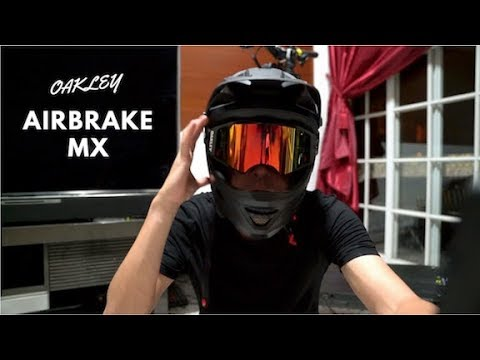 Oakley Airbrake Mx >> Oakley Airbrake Mx Review Giveaway