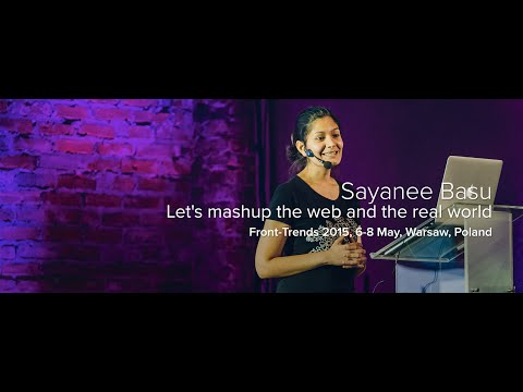 Let's mashup the web and the real world