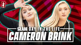 Cameron Brink's Godbrother Stephen Curry Has Shown Her the PRO MENTALITY | SLAM Day in the Life
