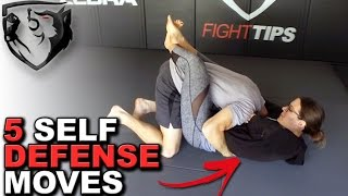 5 Self Defense Moves EVERYONE Should Know!