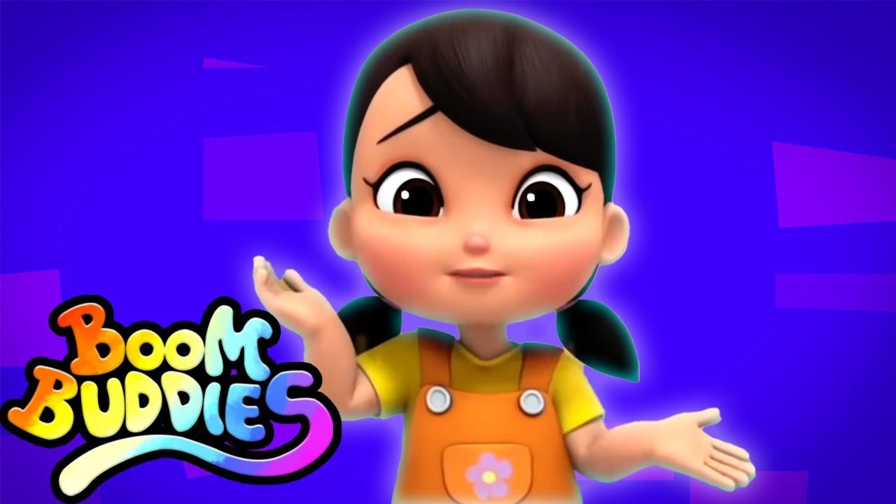 lluvia lluvia vete | Canciones infantiles | Boom Buddies Español | Videos para bebes