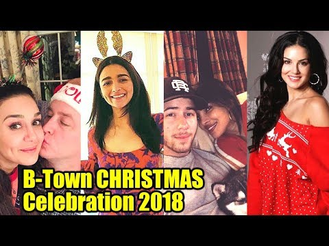 Bollywood Celebs CHRISTMAS Celebration 2018 | Priyanka Chopra, Nick Jonas, Alia Bhatt, Preity Zinta