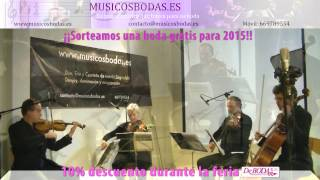 Música bodas Valladolid. Stand by me . www.musicosbodas.es/valladolid.html