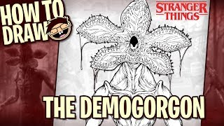 How to Draw The DEMOGORGON (Stranger Things) | Narrated Easy Step-by-Step Tutorial