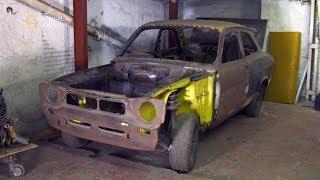 Znaleźli w garażu prawdziwy okaz z lat 70! [Car S.O.S]