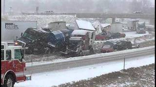 Massive Pileup Snarls Missouri Highway As Snow Moves Through State